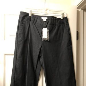 Ann Taylor Loft cropped denim pants size 10